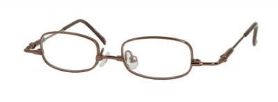 Erin's World frame style number EW-01 in brown