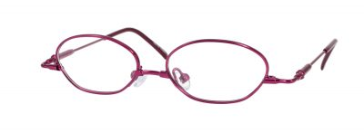 Erin's World frame style number EW-02 in wine (red)
