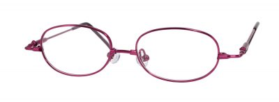 Erin's World frame style number EW-09 in wine (red)