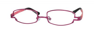 Erin's World frame style number EW-11 in matt wine (red)