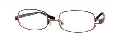 Erin's World frame style number EW-12 in matt brown