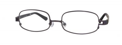Erin's World frame style number EW-12 in dark matt gunmetal