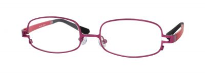 Erin's World frame style number EW-12 in matt wine (red)